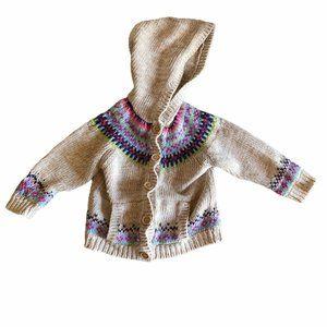 Arizona Jean Company Cardigan Girls 2T Sweater Hoo